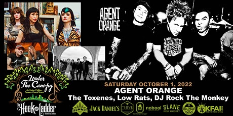 AGENT ORANGE with The Toxenes, Low Rats, and DJ Rock The Monkey tickets