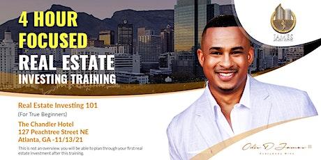 Real Estate Investing 101 - Live Training - Atlanta, GA tickets