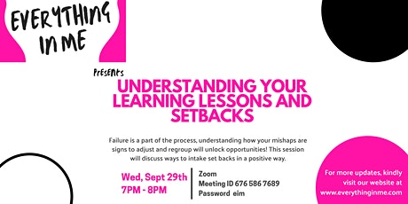 Understanding your Learning Lessons and Setbacks tickets