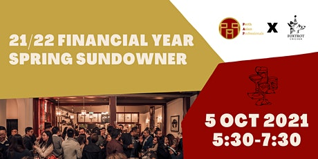 21/22 Financial Year Spring Sundowner tickets