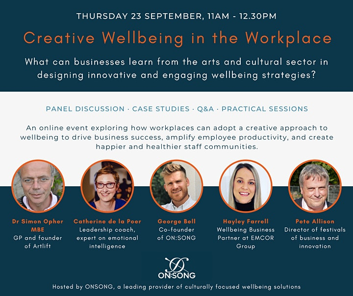 Creative Wellbeing in the Workplace image