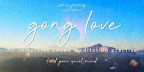 Gong Love - Sound Meditation (Gong Bath, Sound Bath) in Corvallis, Oregon tickets