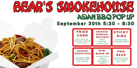 Bear's Smokehouse Asian BBQ Pup-up tickets
