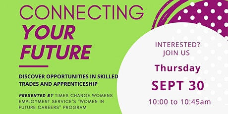 Connecting Your Future: Trade Apprenticeships tickets