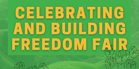 Celebrating & Building Freedom Fair tickets