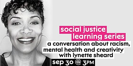 A Conversation About Racism, Mental Health, and Creativity tickets