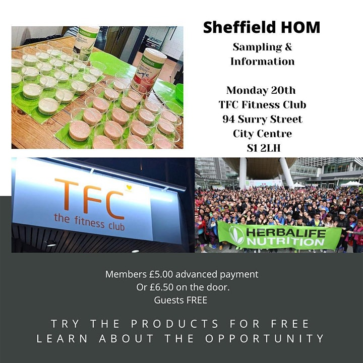 Sheffield  Herbalife Night image
