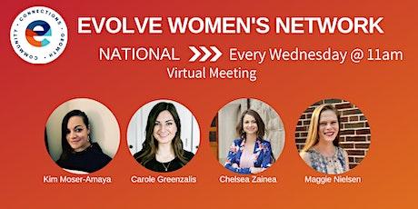 Evolve Women's Network: National (Virtual) Tickets