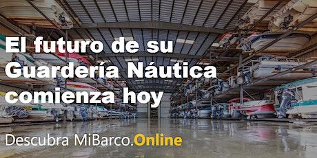 Taller Online Gratuito. Gestión de Guarderías Náuticas con MiBarco.Online entradas