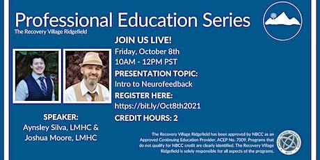 Professional Education Series: Intro to Neurofeedback entradas