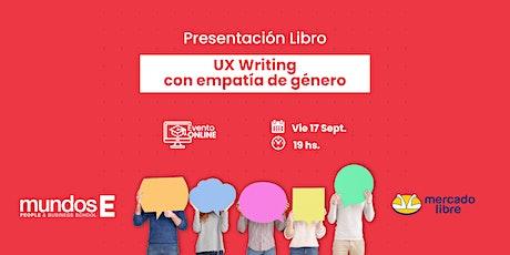 UX Writing con empatía de Género ingressos