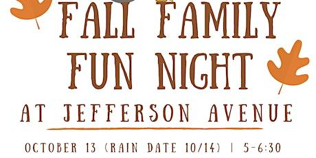 Fall Family Fun Night- Jefferson Ave School tickets