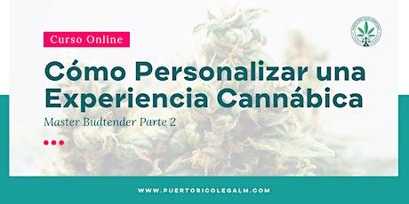 Master Budtender  p. 2: Cómo Personalizar una Experiencia Cannábica tickets