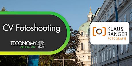 Gratis Bewerbungsfoto @TECONOMY Vienna 2021 Tickets