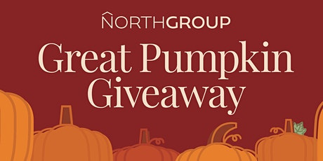 The Great Pumpkin Giveaway tickets