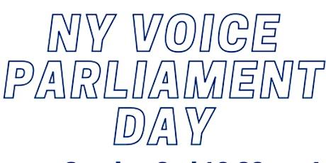 NY Voice Parliament Day - Virtual Access tickets