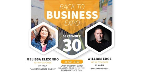 Back to Business Expo tickets