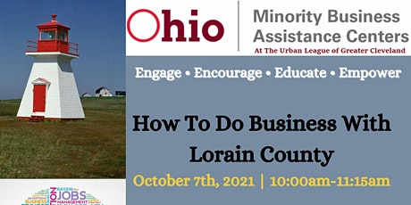 How To Do Business With Lorain County tickets