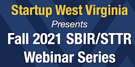 NOAA SBIR Webinar hosted by Startup WV tickets