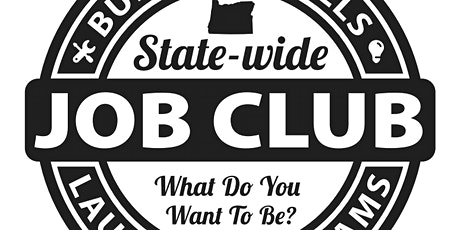 Virtual Statewide Job Club Registration tickets
