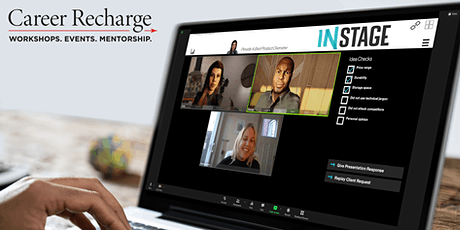 Career Recharge: InStage Live – Pitching Skills tickets
