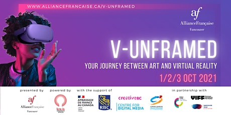 V-UNFRAMED - Your journey between Art and Virtual Reality tickets