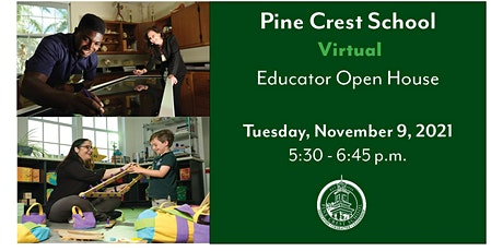 2021 Virtual Educator Open House tickets