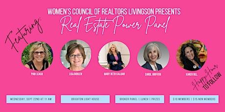 Women's Council of REALTORS Livingston Presents Real Estate Power Panel tickets