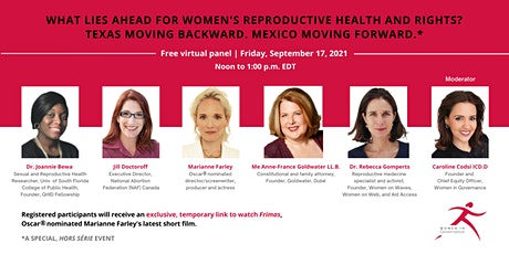 What Lies Ahead for Women's Reproductive Health and Rights? tickets