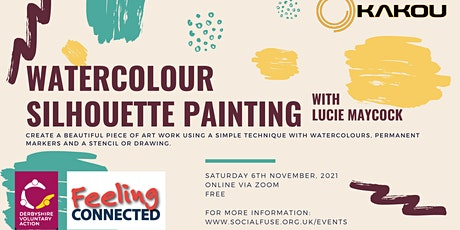 Watercolour Silhouette Painting with Lucie Maycock tickets