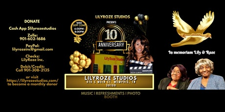 LilyRoze 10 Year Anniversary Celebration tickets