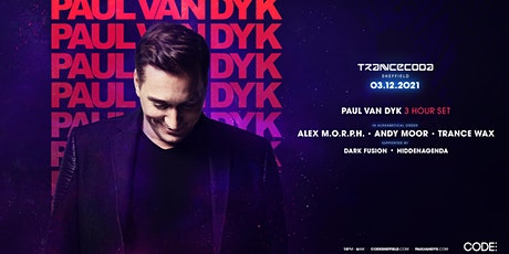 Trancecoda - Paul van Dyk - Sheffield Return tickets