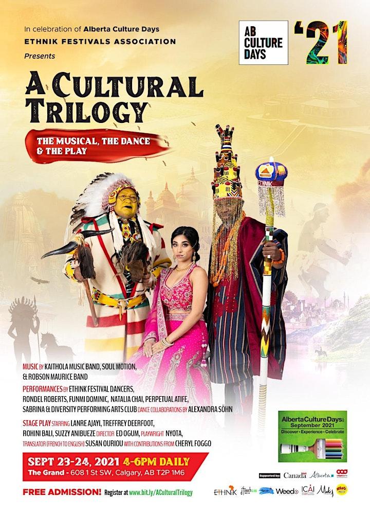 A Cultural Trilogy - Alberta Culture Days Celebration 2021 image