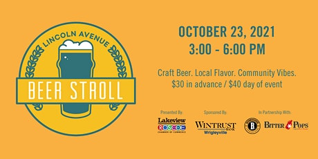 Lincoln Avenue Beer Stroll tickets