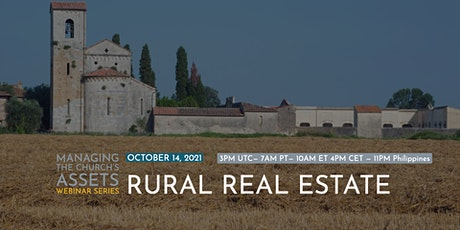 Webinar: Managing the Assets of the Church: Rural Real Estate tickets