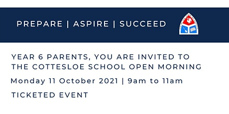 The Cottesloe School Open Morning | 11 October tickets