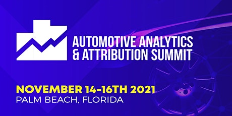 2021 Automotive Analytics & Attributions Summit tickets