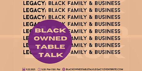 Black Owned Table Talk tickets