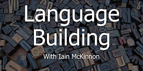Creative Writing: Language Building tickets