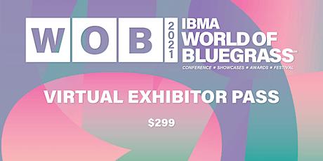 IBMA World of Bluegrass - Virtual Exhibitor Pass tickets