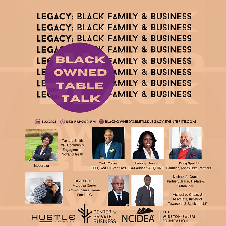 Black Owned Table Talk image