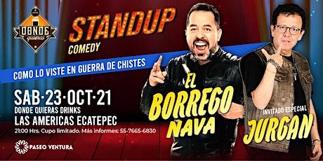 """El Borrego"" Nava y Jurgan | Comedia | Ecatepec tickets"