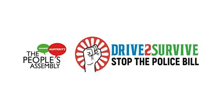 Drive to survive! Kill the PCSC bill - GRT rally tickets