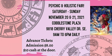 Psychic & Holistic 2 Day Fair in Caledonia! tickets