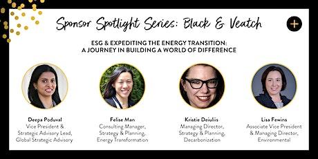 Women+Power Sponsor Spotlight Series presented by Black & Veatch tickets