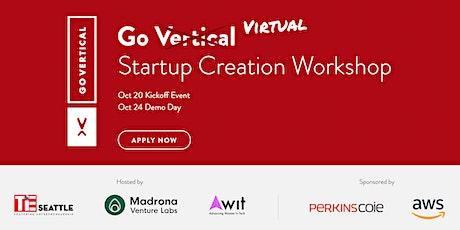 GoVertical Startup Creation Workshop 2021 tickets