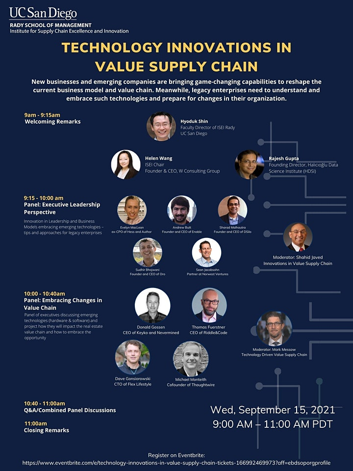 Technology Innovations in  Value Supply Chain image
