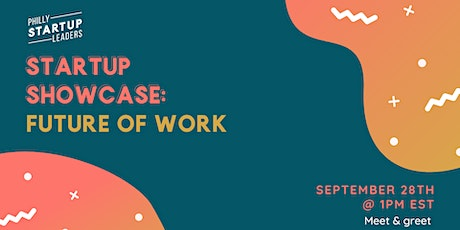 PSL Startup Showcase: The Future of Work tickets
