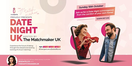 Isodate & The Matchmaker UK Present: Date Night UK tickets
