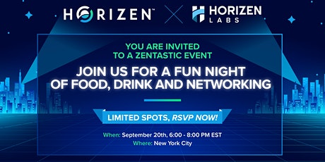 Horizen Rooftop Party in NYC! tickets